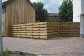 Bespoke timber fencing services Somerset