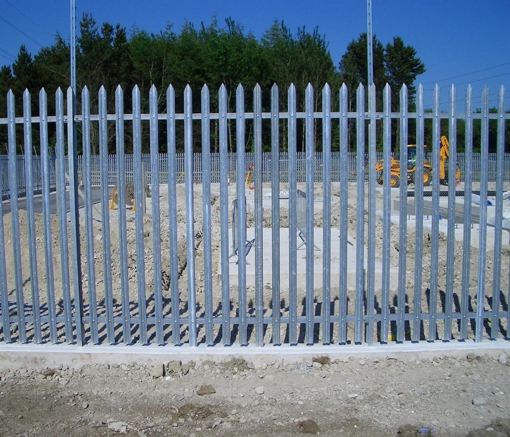 Steel Palisade fencing services in Somerset