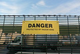 Security fencing services in Bridgwater
