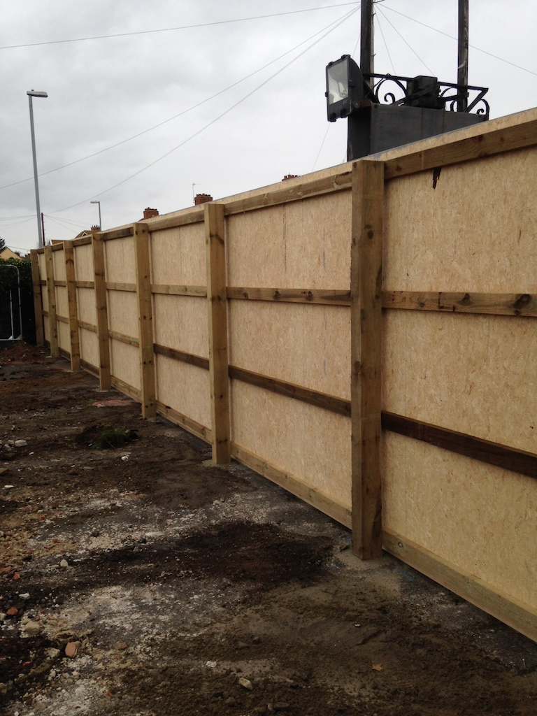 Site Hoarding Fence