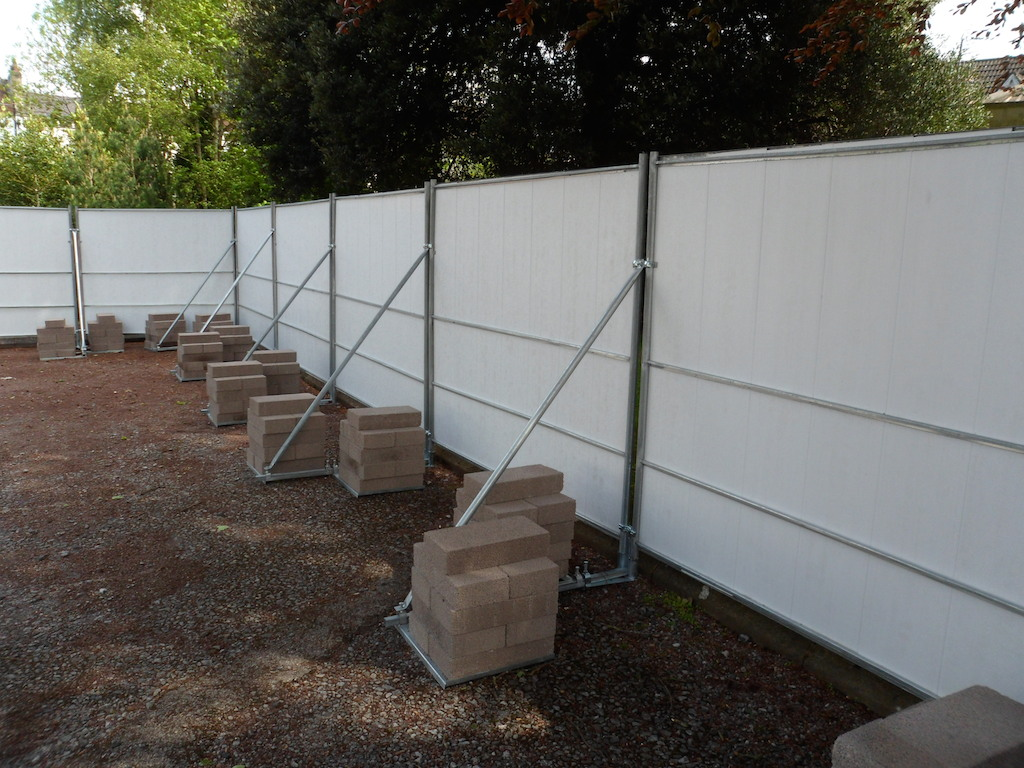 Site Hoarding Contractors Throughout The South West