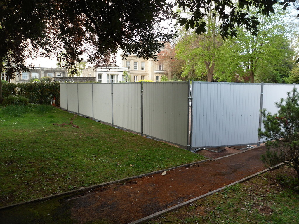 TEMPORARY FENCING SERVICES IN SOMERSET & THE SOUTH WEST