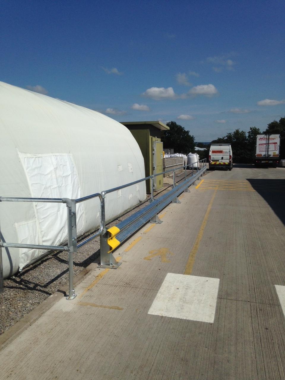 Crash barrier services in Taunton