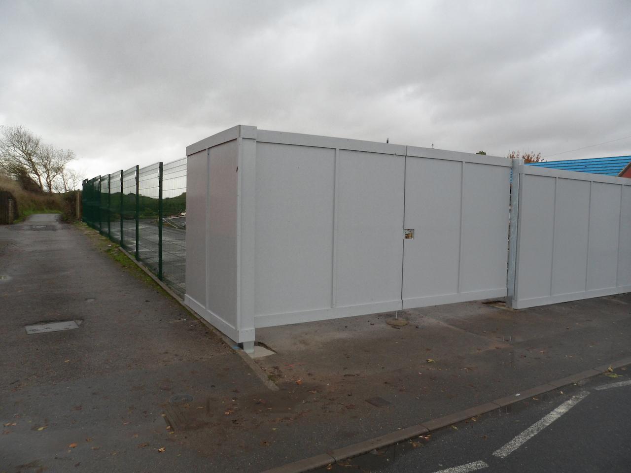 Site Hoarding Gate