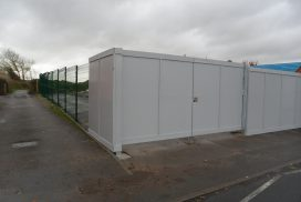 CONSTRUCTION / DEVELOPMENT SITE HOARDING SUPPLIED & FITTED