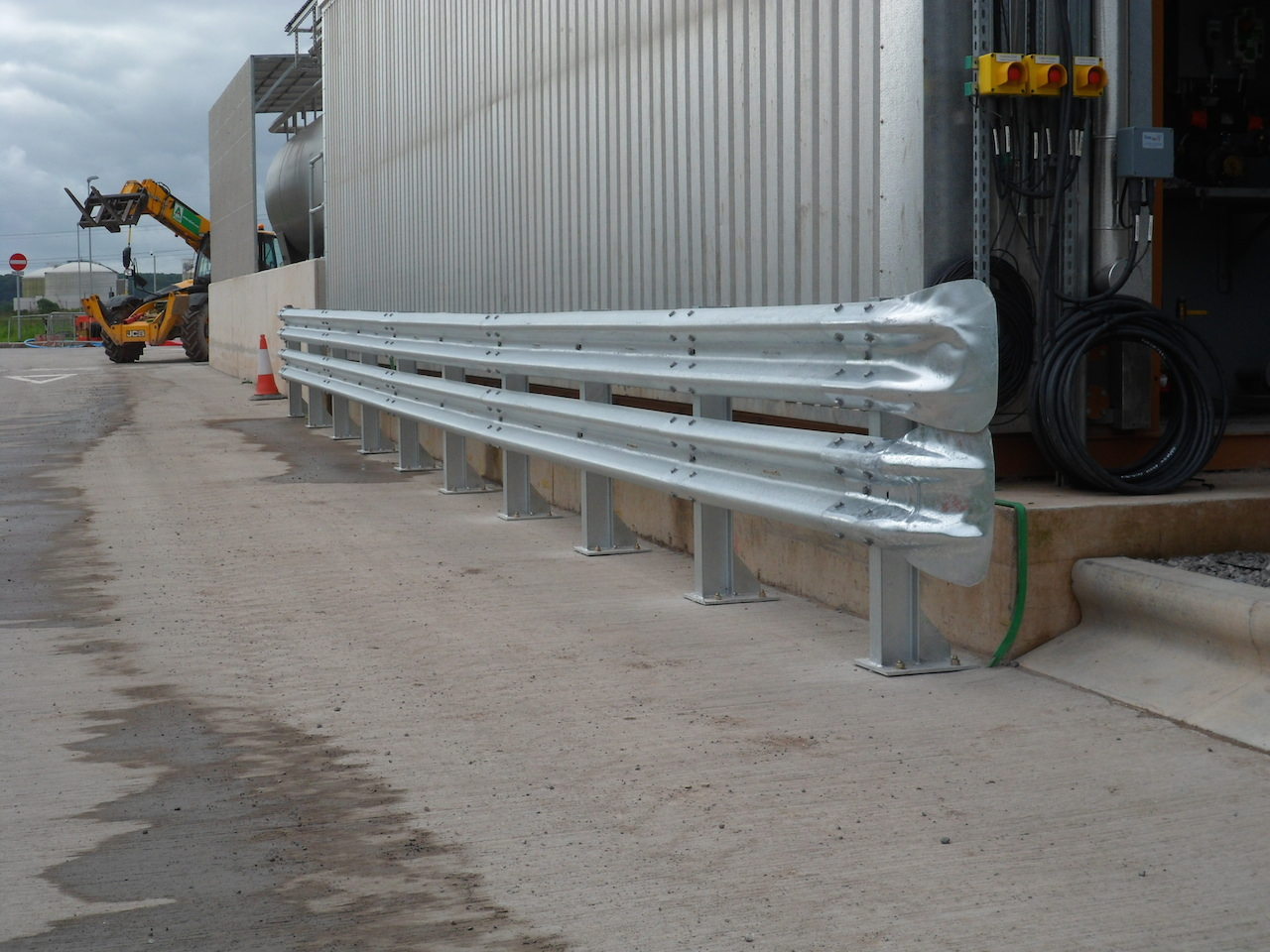 Crash barrier installation services Somerset