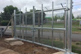 All types of bespoke security gates installed in Somerset