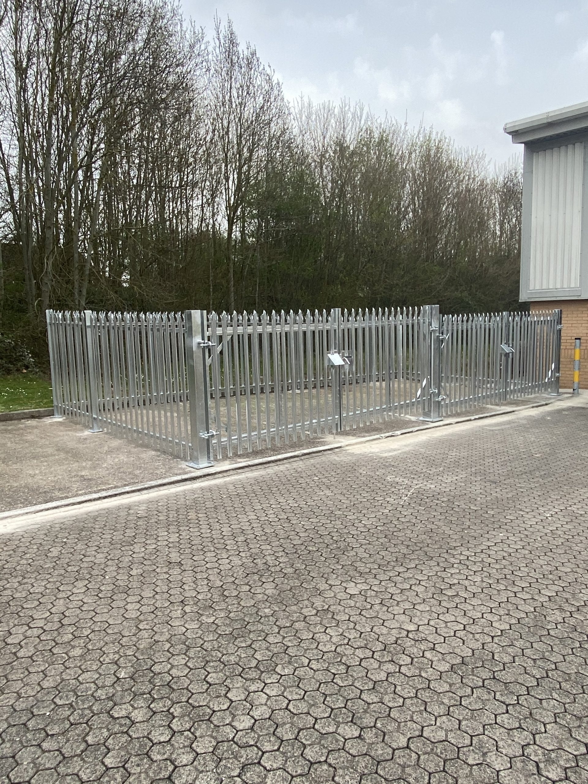 SECURITY FENCING SERVICES IN TAUNTON, SOMERSET