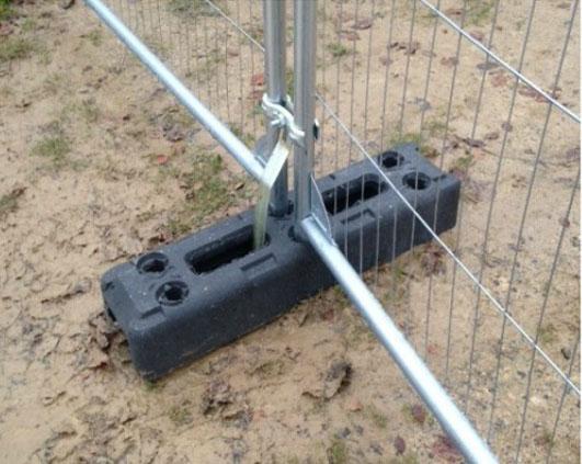Security fencing services in Weston Super Mare.
